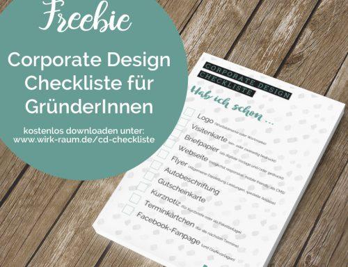 Freebie CD-Checkliste für Gründer
