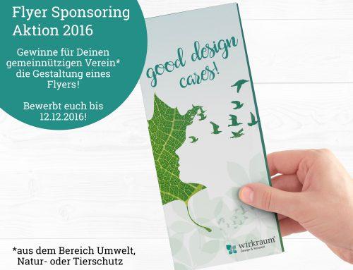 Flyer Sponsoring Aktion