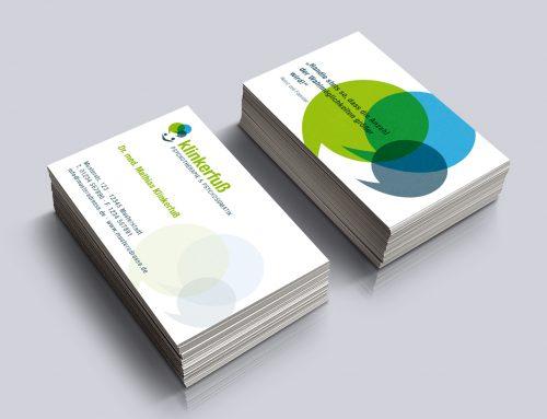 Logo und Visitenkarte Psychotherapie