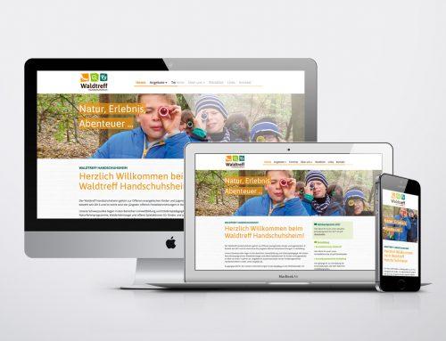 Waldtreff Handschuhsheim Webseite