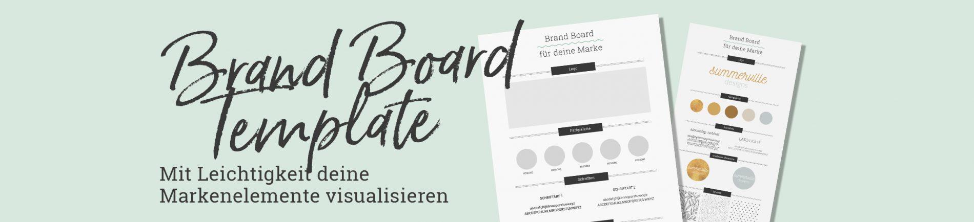 Free Brand Board