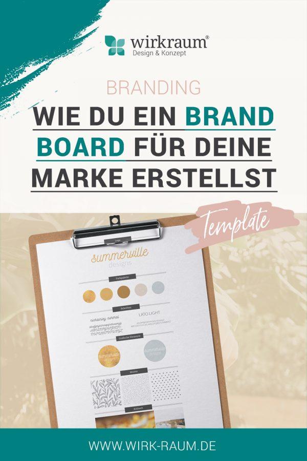 Erstelle dein Brand Board