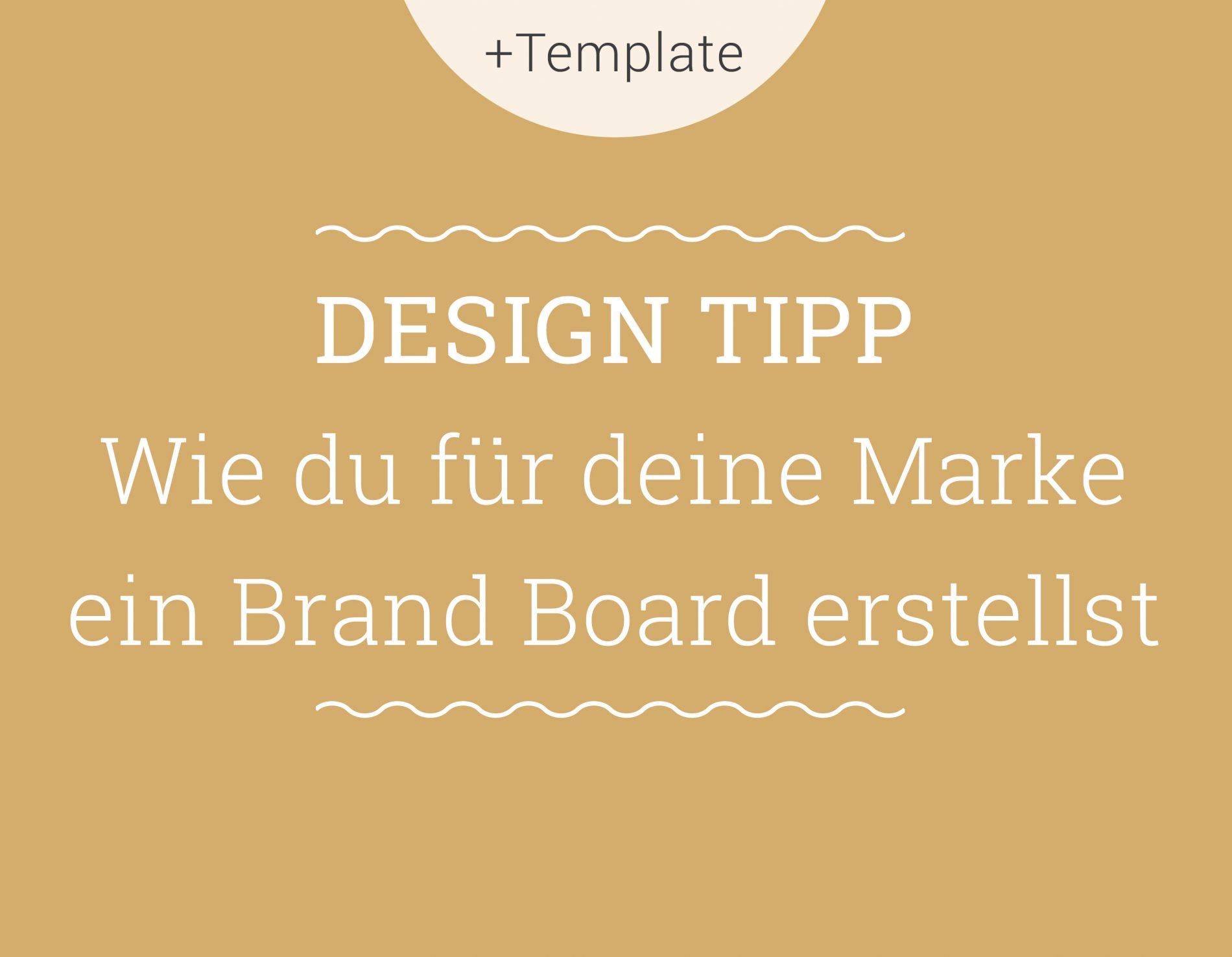 Brand Board erstellen