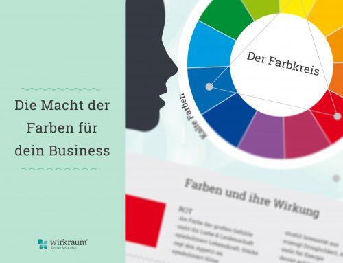 Wie du die Macht der Farben für dein Business nutzt