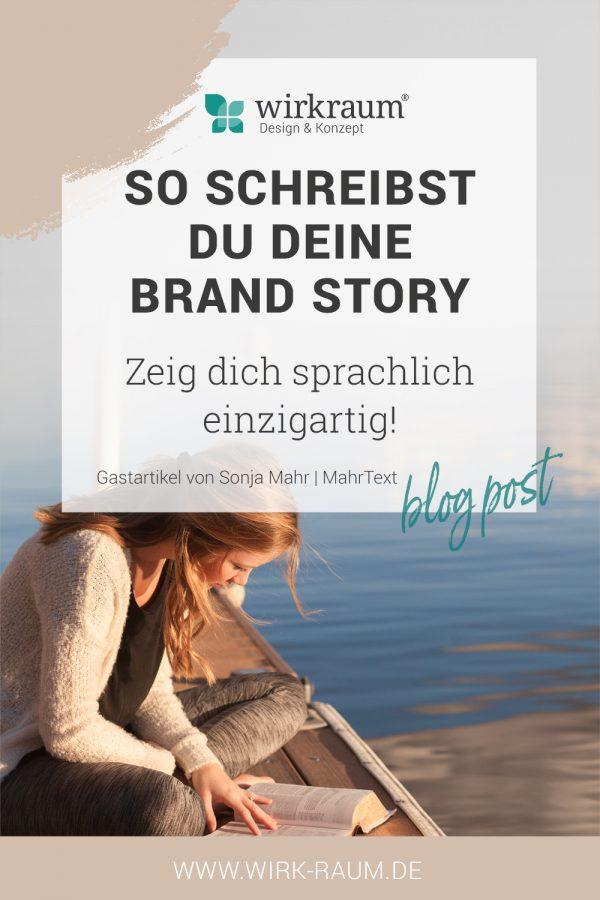 Brand Story schreiben