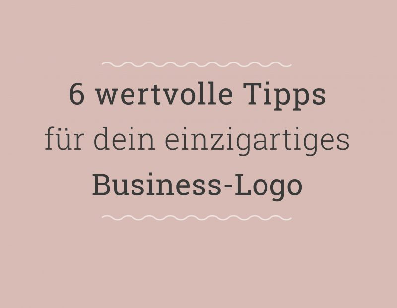 Logodesign Tipps