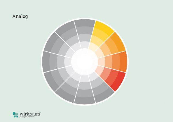 analoges Farbschema