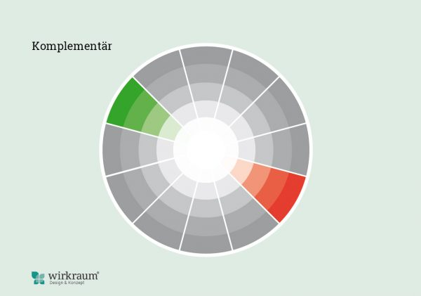 komplementäres Farbschema