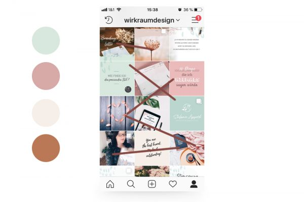 instagram feed design