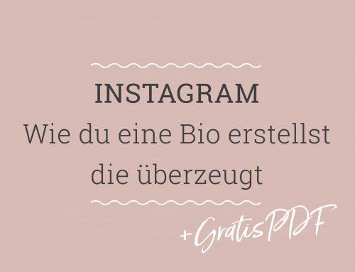 Wie du eine Instagram Bio erstellst, die überzeugt