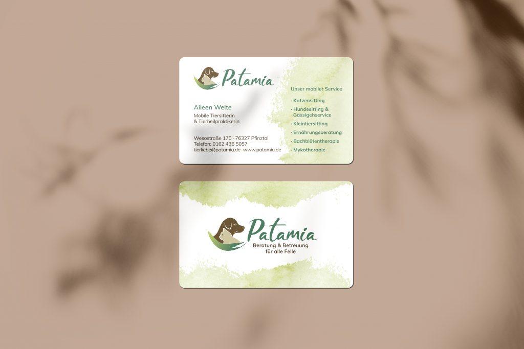 Visitenkarten Brand Design