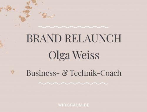 Branding für Olga Weiss