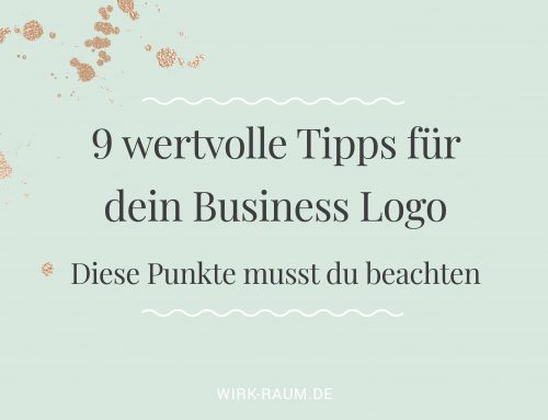 Tipps für dein Business Logo